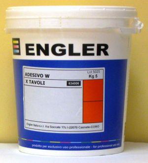 ADESIVO-W - течен адхезив за печат на текстил при високи температури